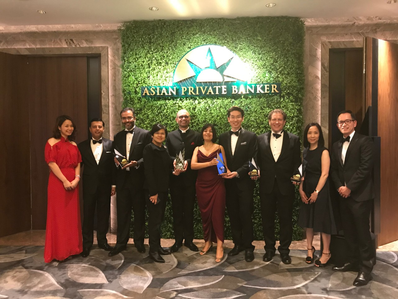 5 wins Asian Private Banker Awards