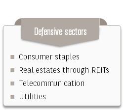 Defensive sectors