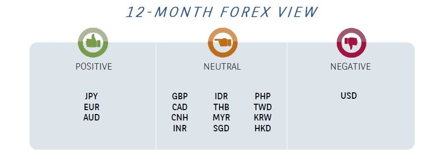 12 month forex view