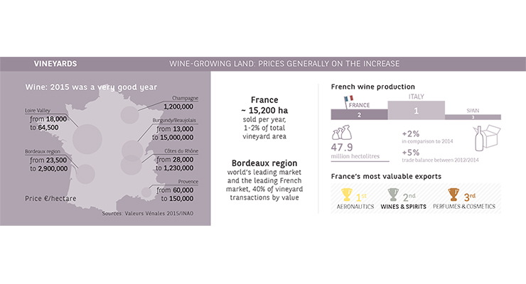 2015 Agrifrance Report: infography