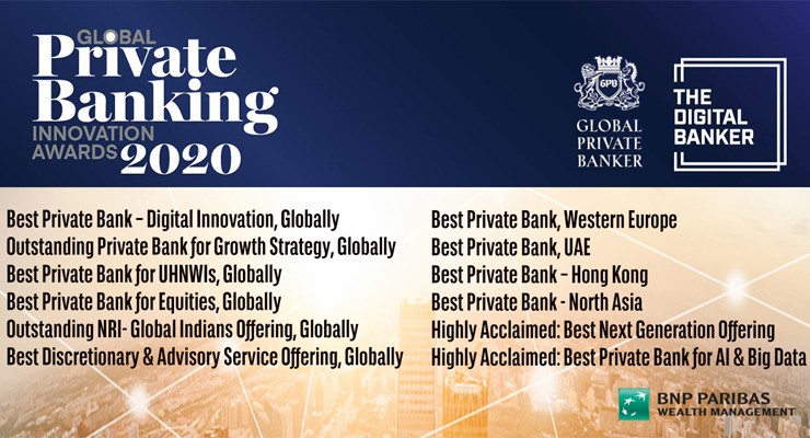 Global Banking Innovation Awards 2020 I BNP Paribas Wealth Management