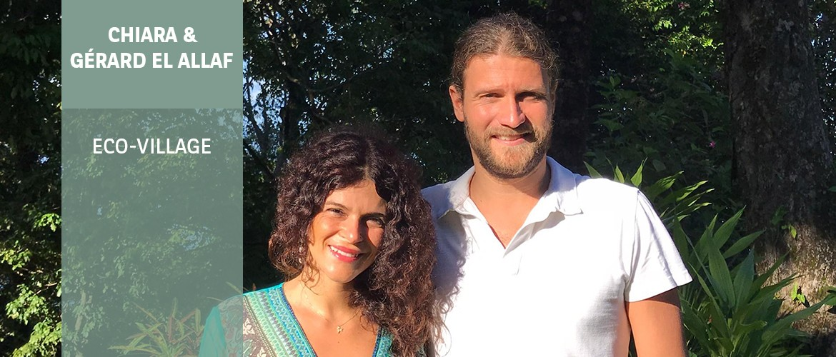 Chiara and Gérard El Allaf - Eco-Village | BNP Paribas Wealth Management - Philanthropy