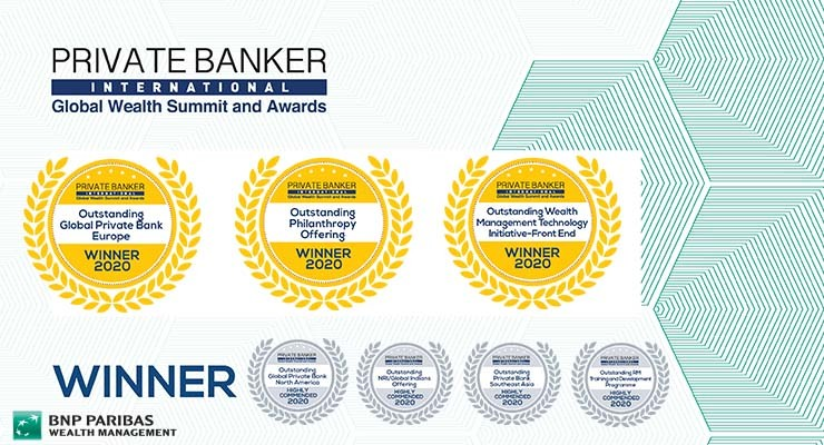 Private Banker International Awards 2020 I BNP Paribas Wealth Management