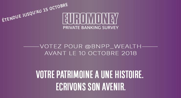 Sondage Euromoney Private Banking 2019
