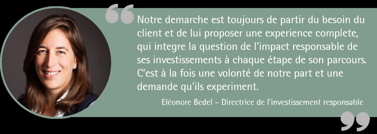 Eléonore Bedel citation
