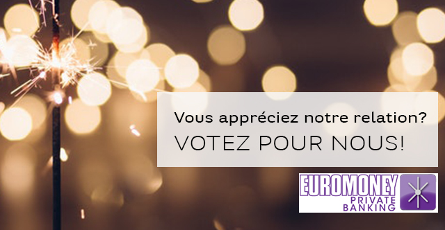 Participez au questionnaire Euromoney Private Banking et votez pour BNP Paribas Wealth Management