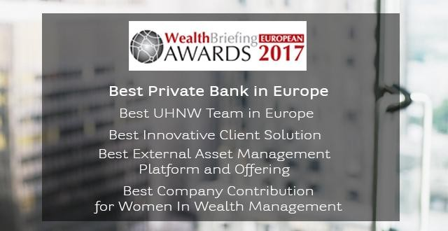 WealthBriefing Awards 2017 - BNP Paribas Wealth Management