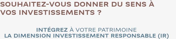 BNP Paribas Wealth Management : Donner du sens à vos investissements