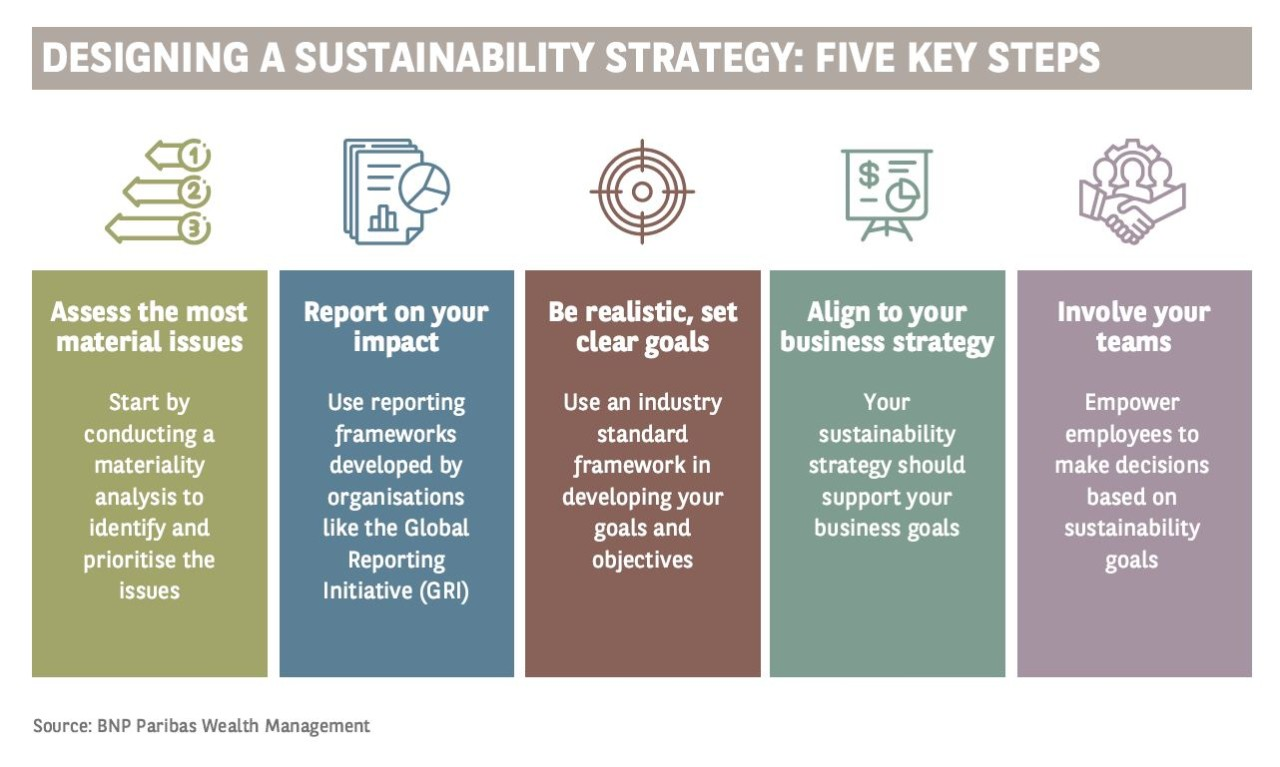 designing a sustainable strategy