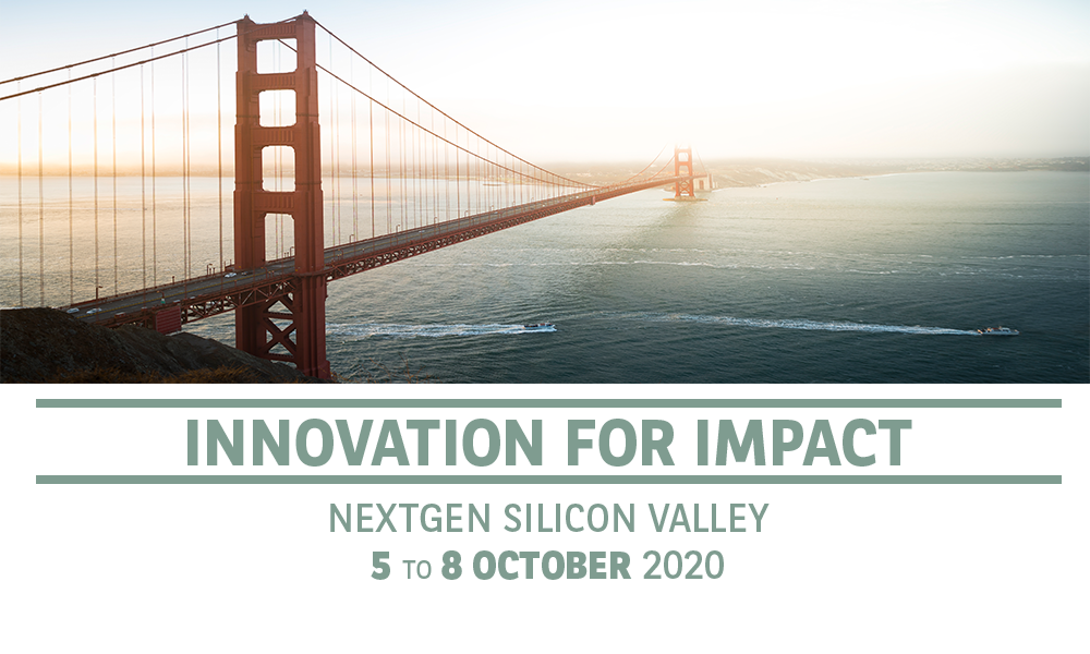 Innovation for impact - NextGen Silicon Valley - 5 to 8 October 2020