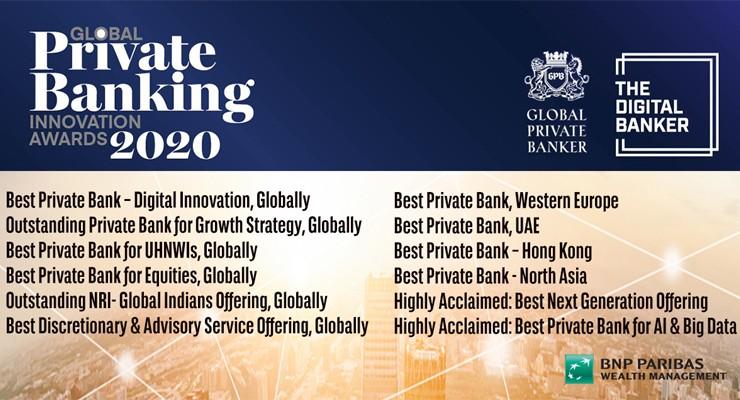 Global Banking Innovation Awards 2020 I BNP Paribas Wealth Management